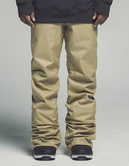 Plain Pants Beige 1718