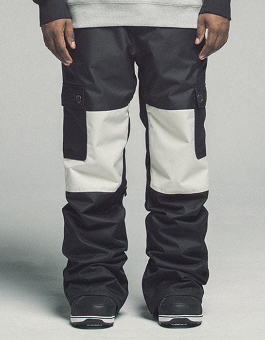 Raptor Pants Black White