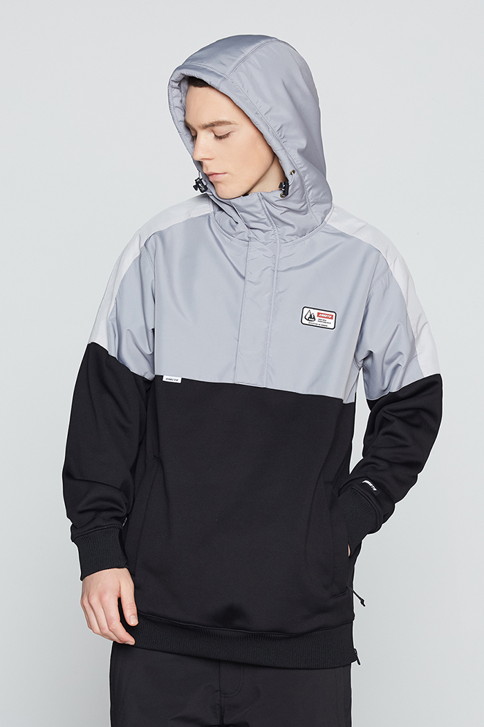 Eclipse Hoodie Gray (방수)