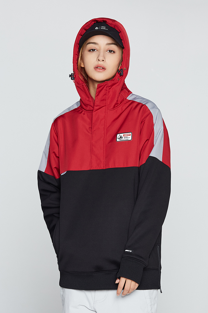 Eclipse Hoodie Red (방수)