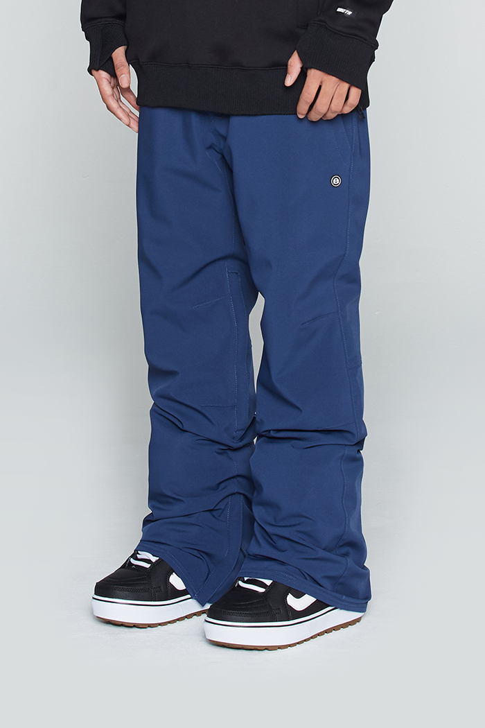 Plain Pants Indigo Blue